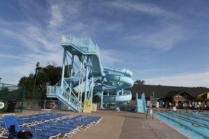 Richfield pool and slides